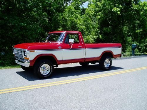My first truck was a 1978 Ford F150 Custom Trailer Special. Boy was that truck a lot of fun.