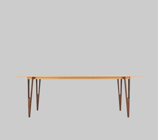Glide solid wood plat-pack table by Henry Sun at Still Design co. #furniture #table