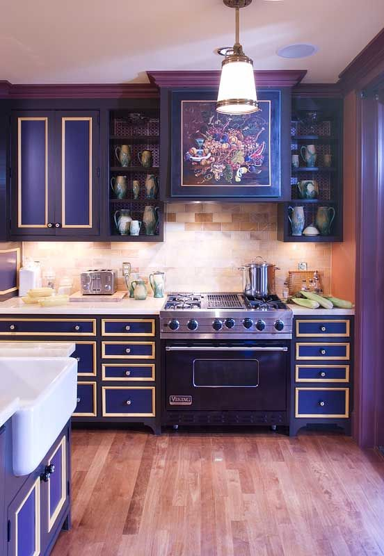 lovely colorful kitchen | 7 best Custom Range Hoods images on Pinterest | Custom ...