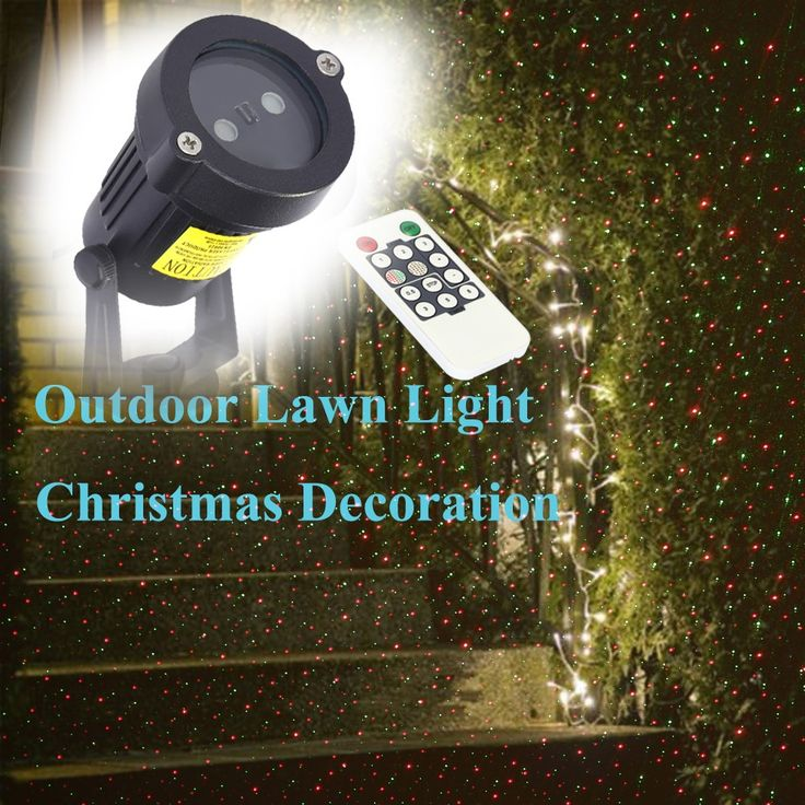 Remote Control Red Green Lawn Decoration Lamp Sky Star Effect Sales Online au - Tomtop.com  #flashlight #light