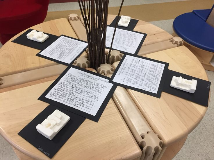 Inuit soap carvings made by grade 2 students for our Arctic Museum!
