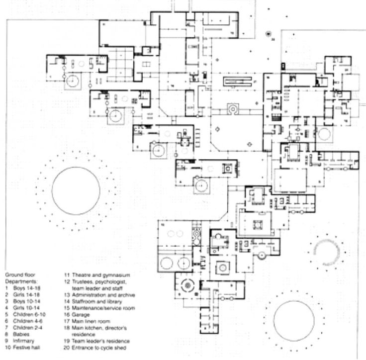 architecture drawing floor plans. ad classics amsterdam orphanage aldo van eyck the jan eyckarchitecture plandrawing architecturefloor architecture drawing floor plans a