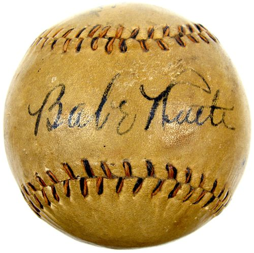 Babe Ruth  Baseball  | If you happen to see this, let me know, thnx