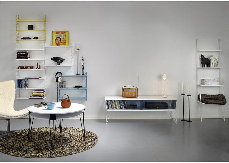 soffbord vitt metallben - Sök på Google