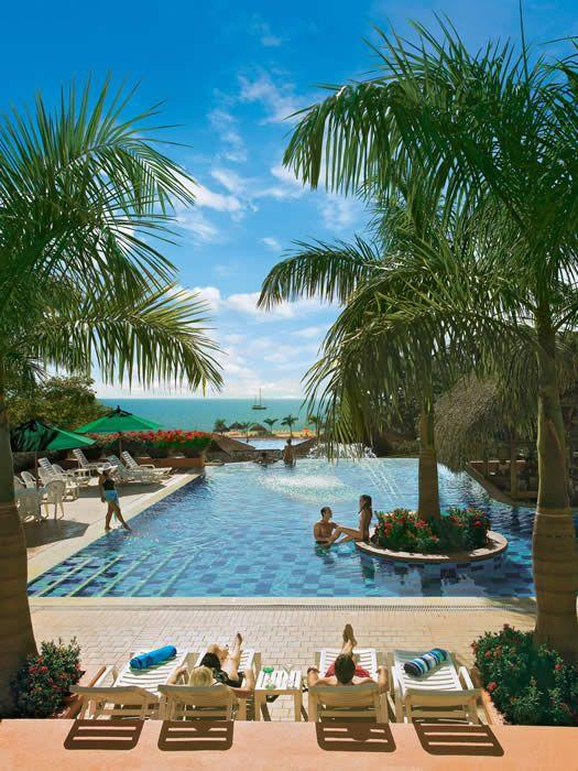 Resort Decameron, Panama. All inclusive resort for around $150/night Panama Roadrunner Secure Transport for airport transfers.