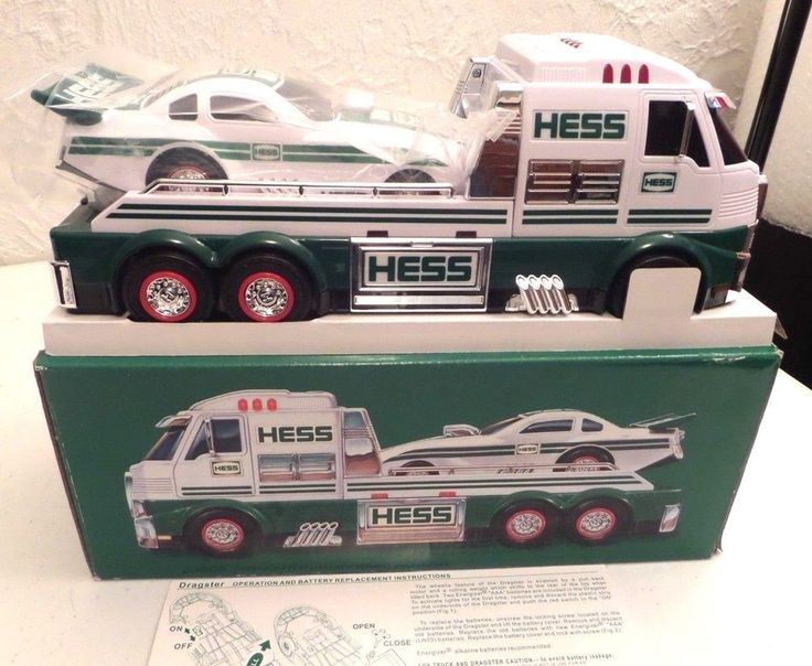 New 2016 HESS Toy Truck And Dragster Brand New In Box Collectors Edition EC #Hess
