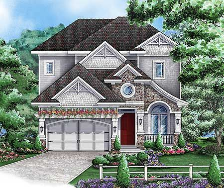 Plan W66263WE: California Bungalow Style