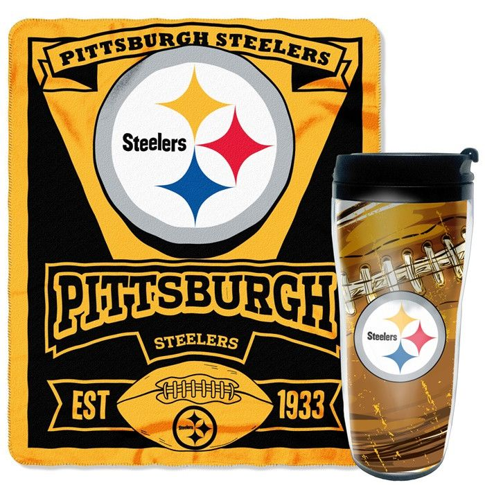 Start Tab Description Grab Your Favorite Drink And Cuddle On The Couch With Pittsburgh Steelers Nfl Mug N Snug Gift Set