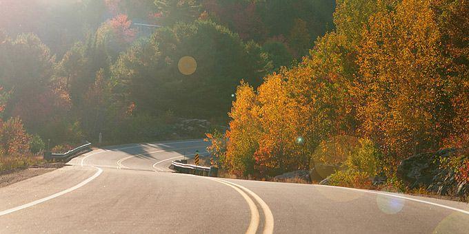 5 τέλειες διαδρομές με αυτοκίνητο, ανάμεσα σε πεσμένα φύλλα