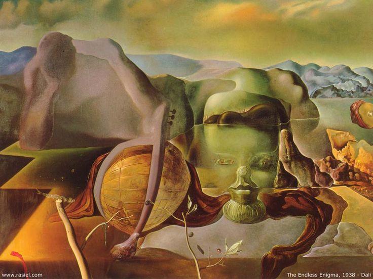 Salvador Dalí (1904-1989, Spain)
