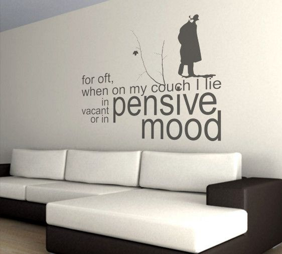 Wall Sticker With Text. Part 3