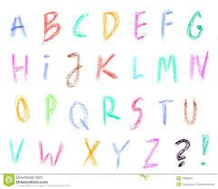 Image result for typeface in crayon