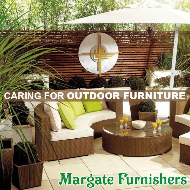 Caring for #Outdoor #Furniture: FOLLOW THESE TIPS #Margate #Furnisher #Home #Decor http://bit.ly/1OhFmpk