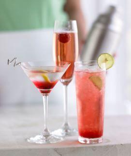 Valentine's cocktails- A Chocolate Raspberry Martini from www.torani.com ♥