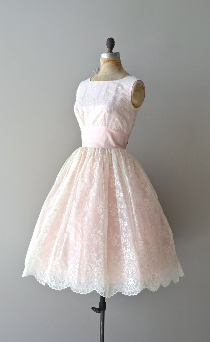 vintage 1950s dress / 50s party dress / Well-Tempered ...