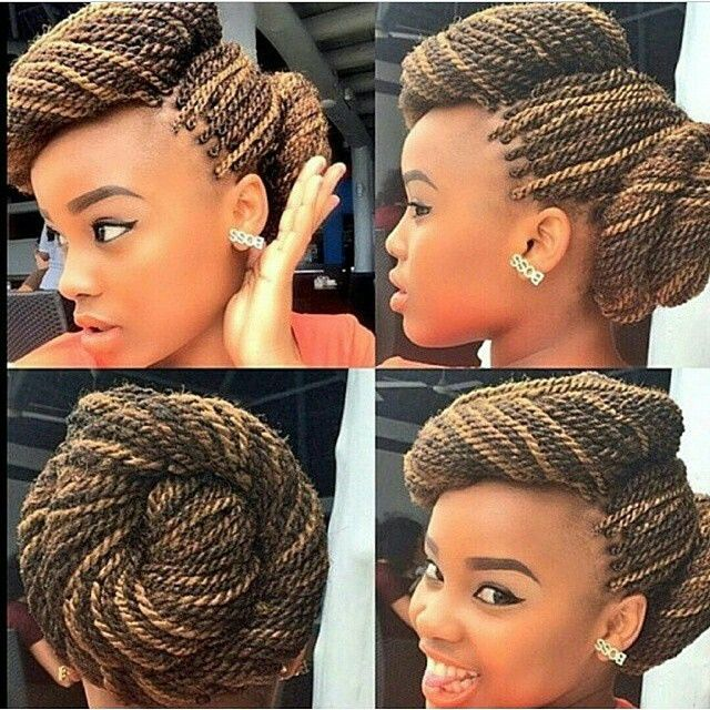 An idea on how to style twists