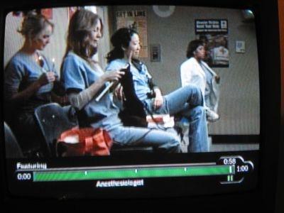 Grey's Anatomy knitting