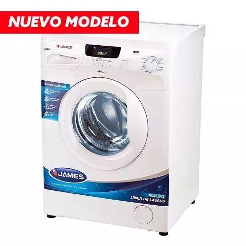 lavarropas james 6kg carga frontal lr608 la tentación