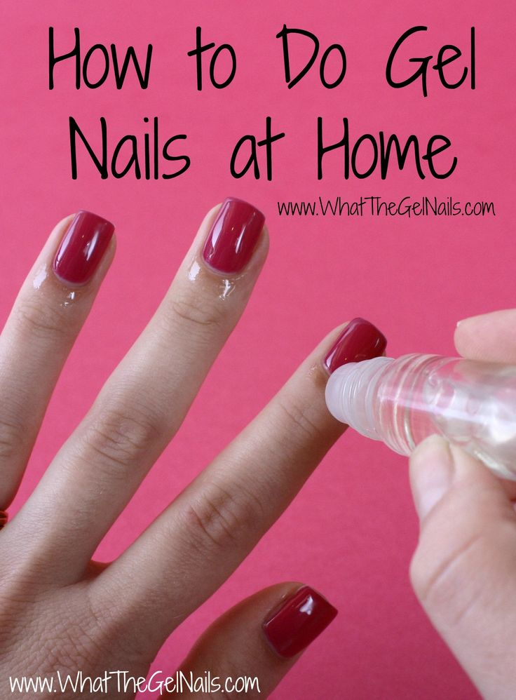 How to Do Gel Nails at Home... all i need is my UV lamp to arrive!