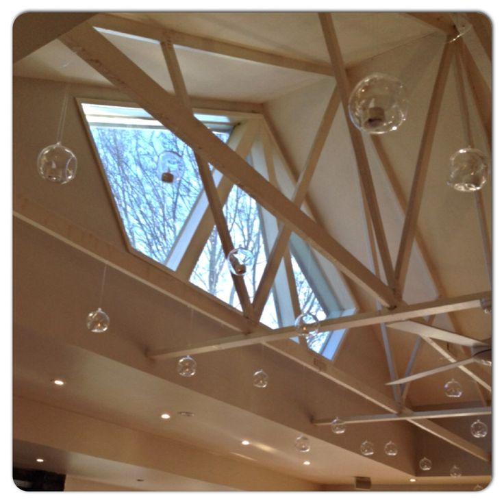 Glass balls hanging from the rafters at Immerse Winery- adds a beautiful touch to your reception.