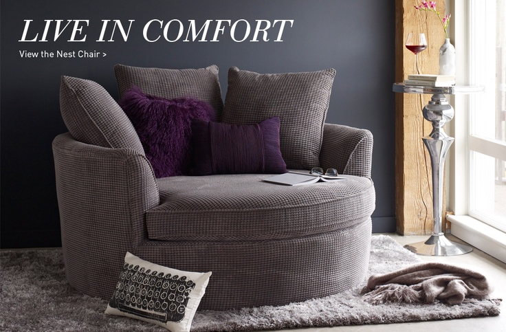 Urban Barn Nest Chair... Love My Pillows From Etsy EastAndNest Store! | For  The Home | Pinterest | Urban Barn, Nest And Barn