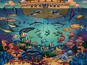 Image result for fishing noah's ark