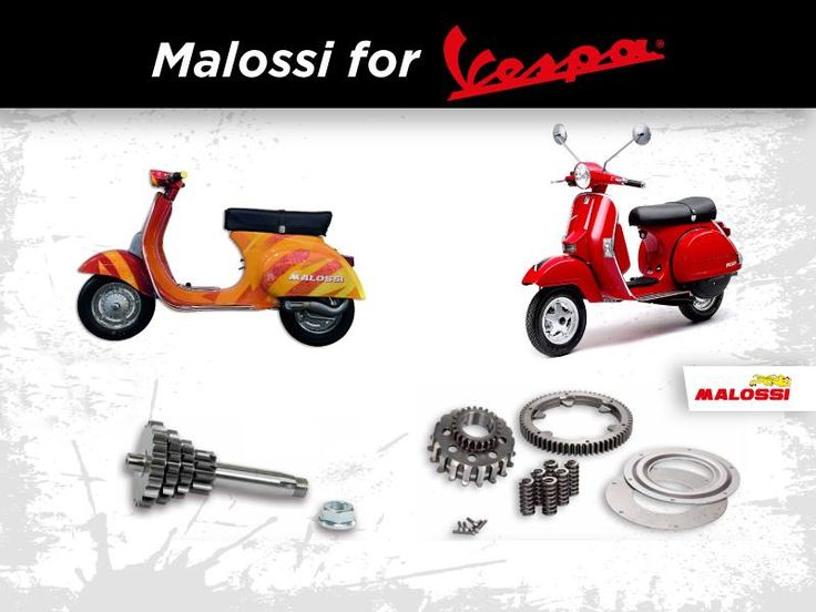 I nuovi prodotti Malossi per Vespa: la tradizione al servizio dell'innovazione, per un mito tutto italiano! Scoprili al link ➠ http://www.malossi.com/nuovi-prodotti-malossi-per-vespa/