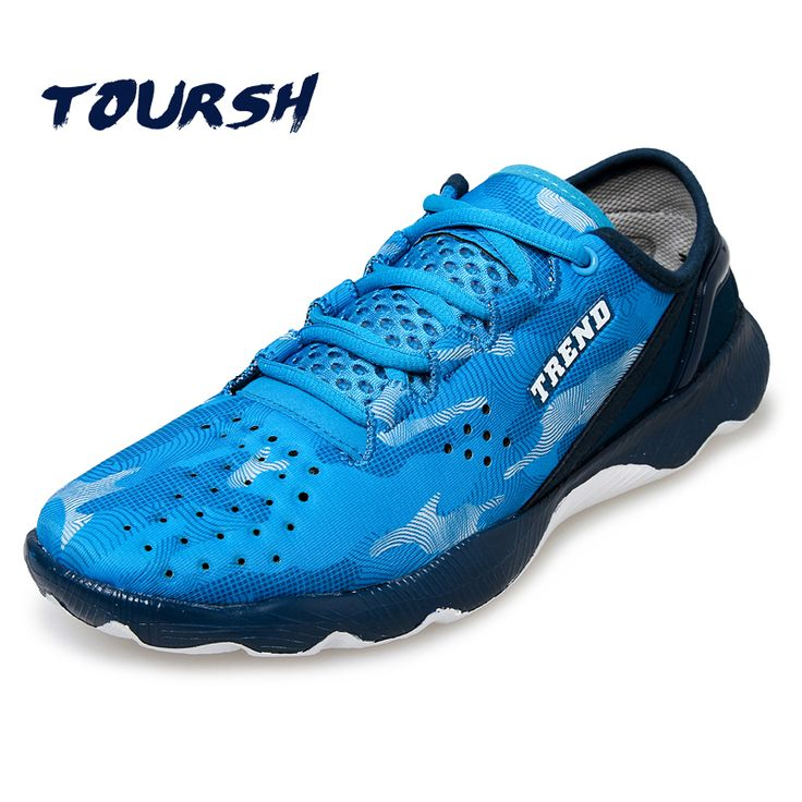TOURSH Hot Trail Running Shoes For Men Sport Shoes Cross Country Outdoor Sneakers Zapatos Para Correr Lace-Up Boys Jogging Shoes #Affiliate