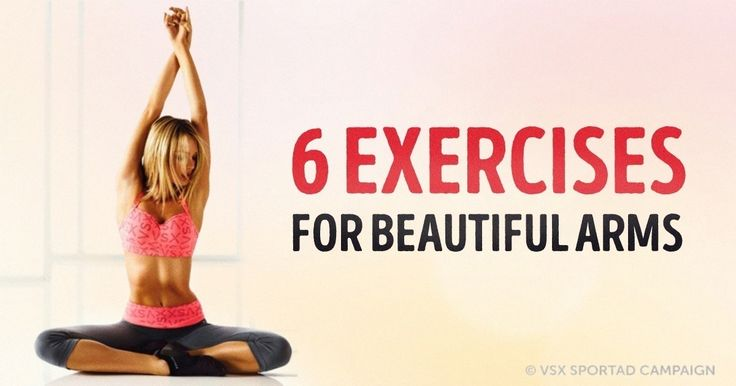 Six brilliant exercises for beautiful arms