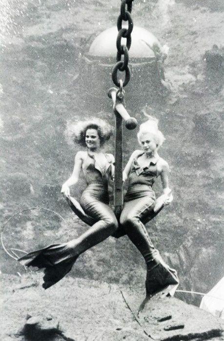 Vintage Mermaids Love this one. Ship Ahoy