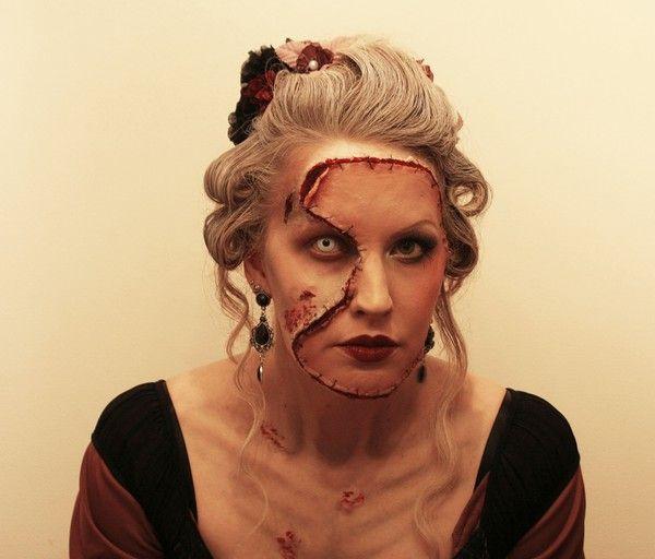 flesh mask..very amber-sweet-esqueFlesh Maskveri, Face Makeup, Facepaint Halloween, Flesh Masks Very, Costumes Makeup, Halloween Costumes, Halloween Makeup, Costumes Time, Face Masks