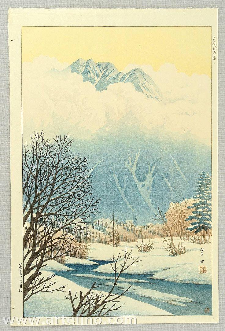 Henmi Takashi: Spring Snow at Kamikochi