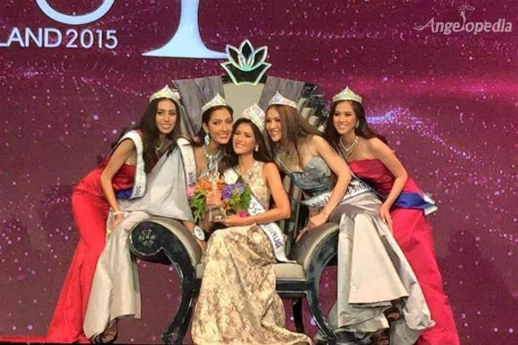 Aniporn Chalermburanawong crowned Miss Universe Thailand 2015