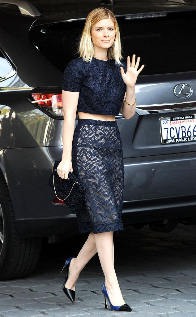 Kate Mara heads out to lunch in West Hollywood. OMG -- her outfit is perfection! #style
