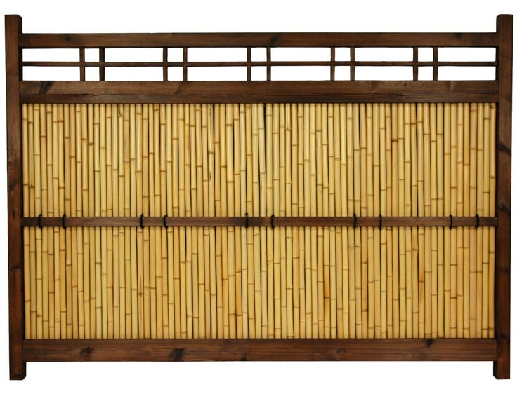 for champagne room? 4 ft. x 5 ½ ft. Japanese Bamboo Kumo Fence