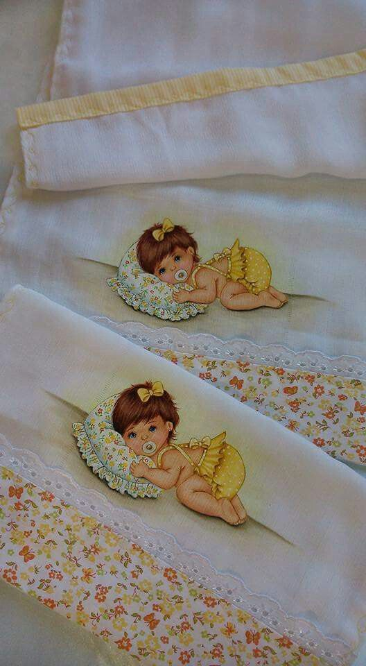 Pintura em tecido | para bebês |