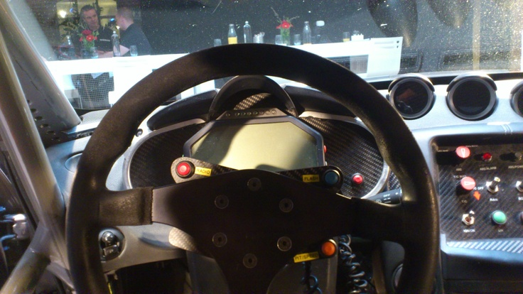 Nissan 370Z GT4 - Cockpit view (2)