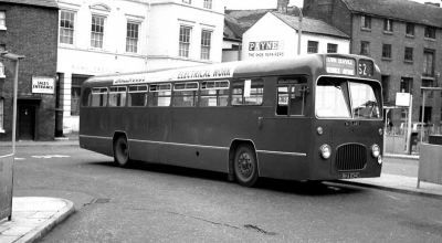 BMMO S17 chassis and was seen oerating a  town service in Shrewsbury