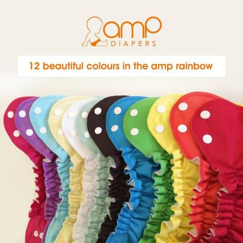 AMP Stay Dry Snap AIO - Small (6-18lbs)