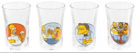The Simpsons - Panáky set 4 ks