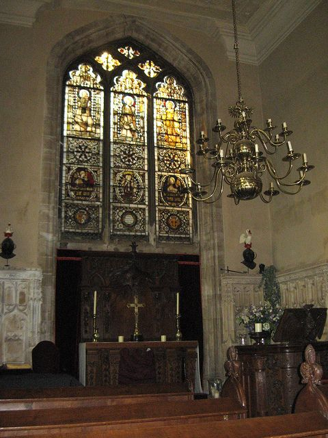 The Chapel of Warwick Castle
