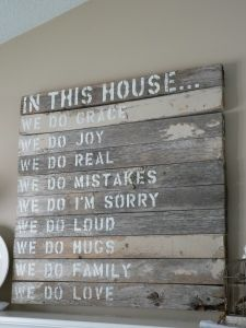 House rules...love this!