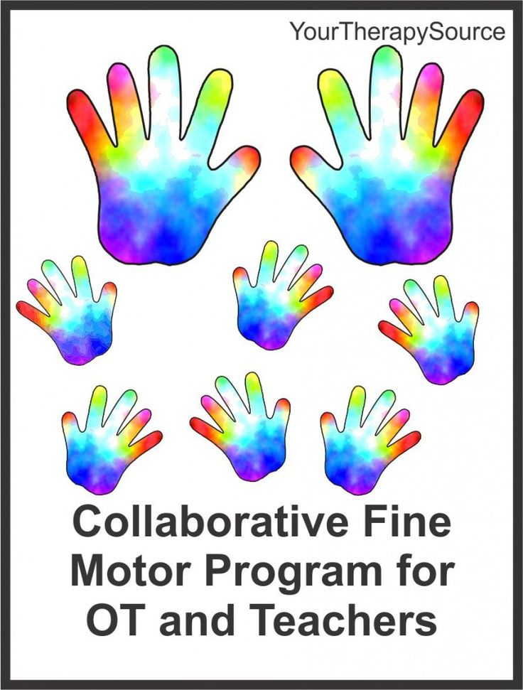 Collaborative Based Teaching : Research on a collaborative fine motor program between ot