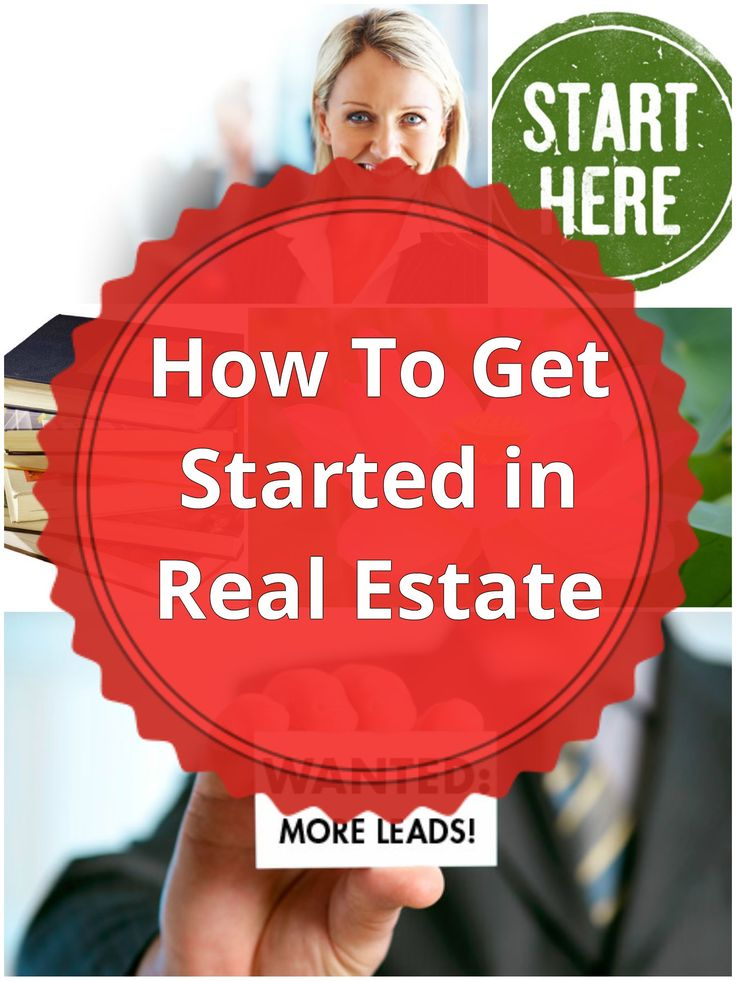 how to get started in real estate with no money