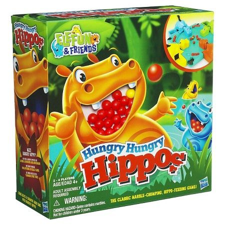 Hungry Hungry Hippos Game : Target