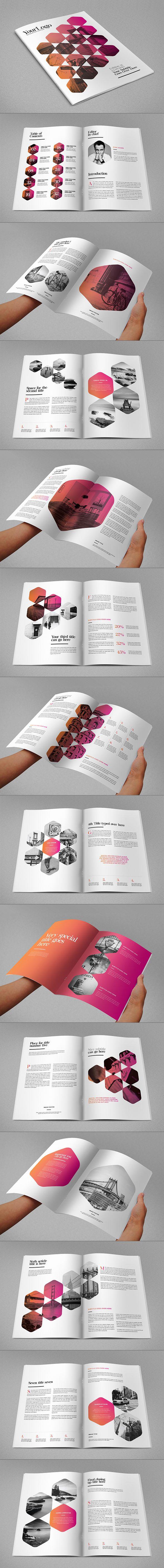 Me parece un diseño de catálogo interesante por la distribución de imágenes con el texto , me llama mucho la atención que todas las imágenes tengan el filtro del mismo color y la forma del contorno de la imágenes, hacen que sea mucho mas atractiva la lectura.