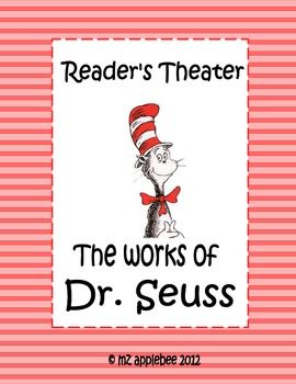 Reader's Theater: Dr. Seuss - mz applebee - TeachersPayTeachers.com