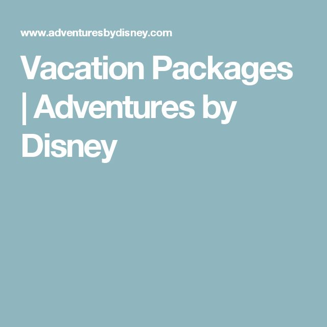 Best disney vacation deals canada