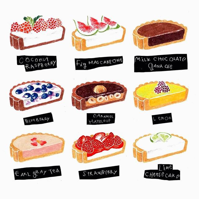 Tarts ~ moreparsley illustration