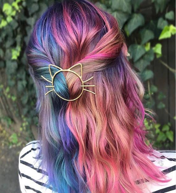 Pin On Ombre Hair Updos